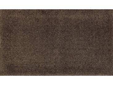 wash+dry by Kleen-Tex Fußmatte »PURE«, rechteckig, Höhe 9 mm, braun, 9 mm, braun