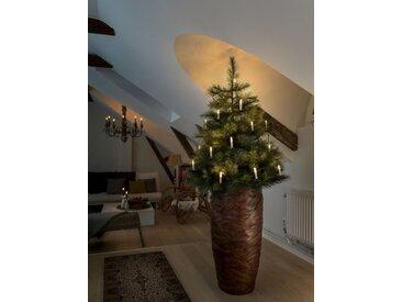 KONSTSMIDE LED Baumkette, Topbirnen, weiß, Lichtquelle warm-weiß, 25 LEDs, Weiß