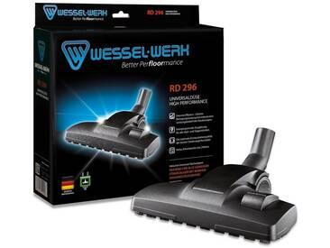 Wessel-Werk Premium Universal-Staubsaugerdüse RD 296, Universaladapter, schwarz, schwarz