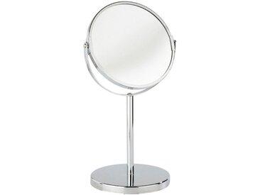 WENKO Kosmetik-Standspiegel »Assisi«, silberfarben, chrom