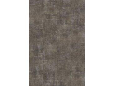 PARADOR Packung: Vinylboden »Basic 4.3 - Fliese Mineral Grey«, 599 x 294 x 4,3 mm, 1,9 m², grau, dunkelgrau