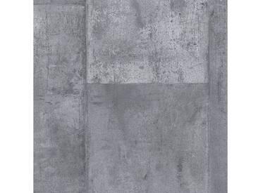 Andiamo ANDIAMO Vinyl-Boden »York silber«, Meterware in 200 cm Breite, silberfarben, 200 cm x 1, silber