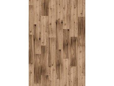 Infloor INFLOOR Teppichfliese »Velour Holzoptik Eiche rustikal«, selbsthaftend 25 x 100 cm, braun, eichefarben
