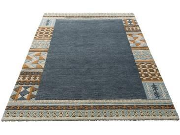 Theko Exklusiv Teppich »Nuno«, rechteckig, Höhe 14 mm, grau, 14 mm, anthrazit