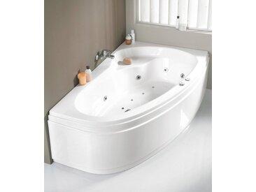 OTTOFOND Eckwanne »Loredana«, B/T/H in cm: 175/110/56, Whirlpool-System Premium, Wanne rechts, 175 cm, 175 cm