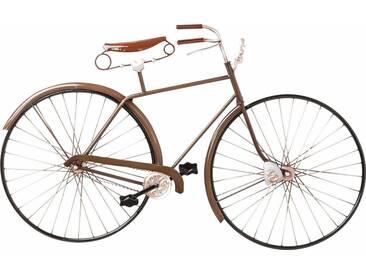 KARE Design Wandschmuck Vintage Bike, braun, (B/T/H): 93/6/56,5 cm, braun