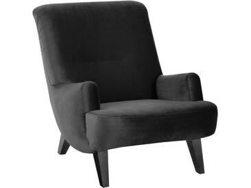 Max Winzer® Sessel »Borano«, schwarz, schwarz