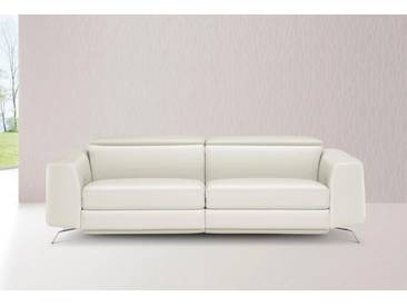 NATUZZI EDITIONS 3-Sitzer, weiß, altweiß