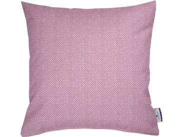 Tom Tailor Kissenhülle »SOFT HERRINGBONE«, rosa, Polyester, rosé