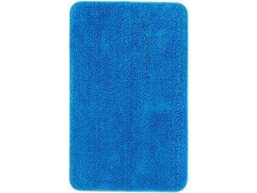 Andiamo Badematte »Micro« , Höhe 8 mm, rutschhemmend beschichtet, fußbodenheizungsgeeignet, blau, 8 mm, blau