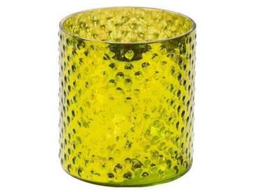 BUTLERS DELIGHT »Teelichthalter«, gruen, Höhe ca. 8 cm, Ø ca. 7 cm
