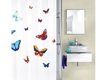 Kleine Wolke KLEINE WOLKE Duschvorhang »Butterfly«, 180 x 200 cm, bunt, bunt