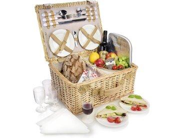 SÄNGER Picknickkorb »Picknickkorb« (27 Stück, Picknickkorb für 4 Personen)