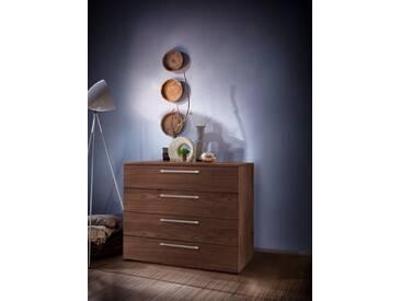 nolte® Möbel Kommode »Alegro Basic«, Breite 160 cm, braun, Nussbaum Dekor, braun