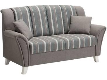 Home affaire 2-oder 3-Sitzer Küchensofa »Melrose«, Speisemöbel mit Federkern, grau, 2-Sitzer, türkis/grau