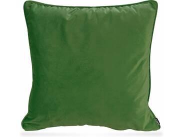 H.O.C.K. H.o.c.k. Kissen »Nobile Samt«, grün, lime-green 107