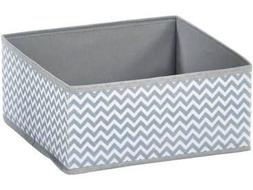 Zeller Present ZELLER Aufbewahrungsbox , 2er Set, grau, grau/weiß
