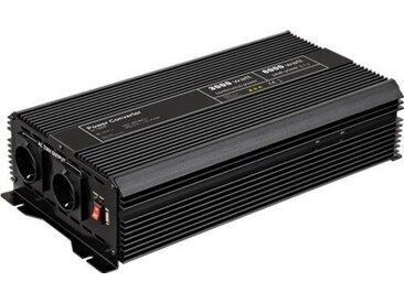 Goobay Spannungswandler 3000 W »wandelt 12 V DC in 230 V AC um«, schwarz, Schwarz