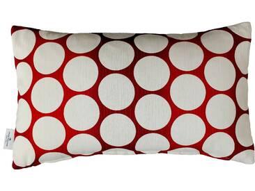 Tom Tailor Kissenhülle »Pellet 1«, rot, Polyester-Baumwolle-Kunstfaser, rot