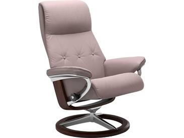 Stressless® Relaxsessel »Sky« mit Signature Base, Größe L, Gestell braun, rot, smoke rose BATICK