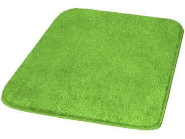 MEUSCH Badematte »Mona« , Höhe 30 mm, rutschhemmend beschichtet, fußbodenheizungsgeeignet, grün, 30 mm, kiwigrün