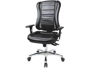 TOPSTAR Bürostuhl ohne Armlehnen »Headpoint RS Deluxe«, schwarz, schwarz