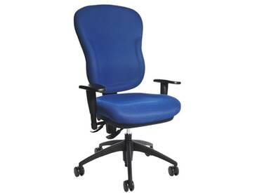 TOPSTAR Bürostuhl ohne Armlehnen »Wellpoint 30 SY«, blau, blau