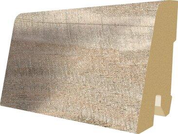 EGGER Sockelleiste »L449 - Eiche alt hell«, 6 cm Sockelhöhe, 240 cm Länge, grau, grau