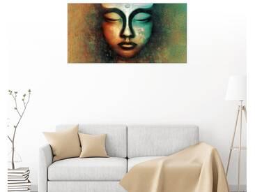 Posterlounge Wandbild - Christine Ganz »Einkehr«, bunt, Acrylglas, 160 x 80 cm, bunt