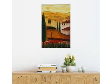Posterlounge Wandbild - Christine Huwer »Toskanaidylle 3«, bunt, Acrylglas, 100 x 150 cm, bunt