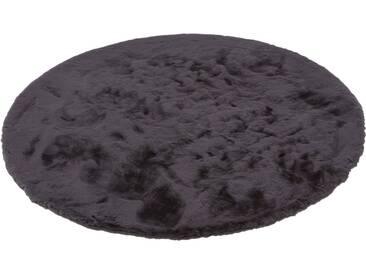 SCHÖNER WOHNEN-KOLLEKTION Teppich »Tender«, rund, Höhe 26 mm, grau, 26 mm, anthrazit