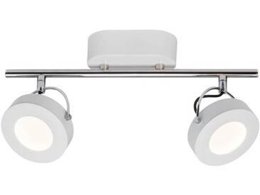 AEG Allora LED Spotrohr 2flg weiß easyDim, weiß, weiß