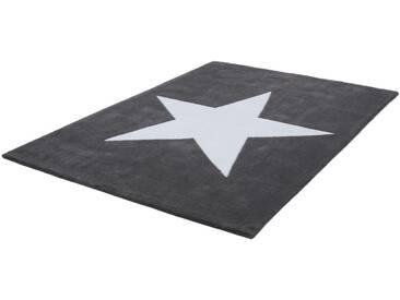 LALEE Teppich »Dream 700«, rechteckig, Höhe 16 mm, grau, 16 mm, grau