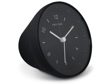 Metronic Wecker Gravity - In 5 verschiedenen Farben erhältlich, schwarz, schwarz