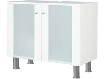 Kesper KESPER Waschbeckenunterschrank »Ravenna«, Breite 65 cm, weiß, weiß