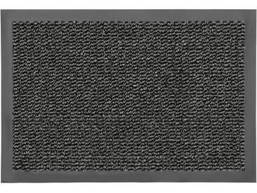 HANSE Home Fußmatte »Faro Line«, rechteckig, Höhe 10 mm, grau, 10 mm, grau