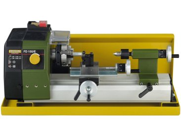 Proxxon PROXXON Spänewanne »für Feindrehmaschine FD 150/E«, mit Spritzschutz, gelb, gelb