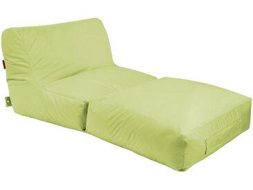 OUTBAG Sitzsack »Peak Plus«, wetterfest, für den Außenbereich, BxT: 90x180 cm, grün, grün