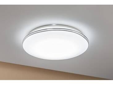 Paulmann LED Deckenleuchte »Sternenhimmel Costella rund 22W Weiß Sternenhimmel«, 1-flammig, weiß, 1 -flg. /, weiß