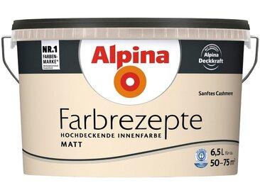Alpina ALPINA Wand- und Deckenfarbe »Farbrezepte - Sanftes Cashmere«, 6,5 l, matt, natur, Sanftes Cashmere