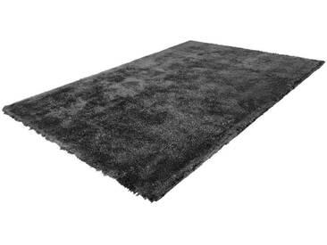 LALEE Hochflor-Teppich »Cloud 500«, rechteckig, Höhe 32 mm, Besonders weich durch Microfaser, grau, 32 mm, anthrazit