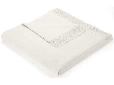 BIEDERLACK Sofaläufer »Cotton Cover«, mit Fransen versehen, natur, natur