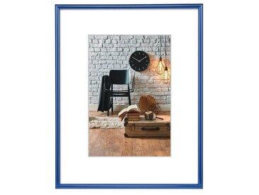 Hama Kunststoffrahmen Sevilla, Blau, Polystyrol, 40 x 50 cm, blau, Blau