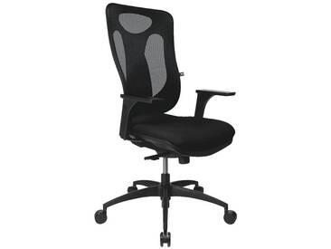 TOPSTAR Bürostuhl ohne Armlehnen »Net Pro 100«, schwarz, schwarz