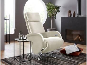 W.SCHILLIG Relaxsessel »jupiter« mit Sternfuß, weiß, weiß Z59