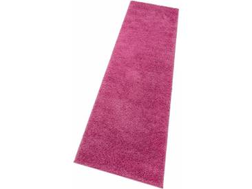 my home Hochflor-Läufer »Bodrum«, rechteckig, Höhe 30 mm, rosa, 30 mm, rosé