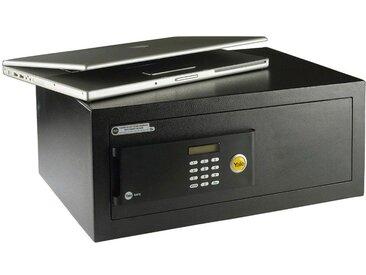Yale YALE Tresor »Laptop«, Digitale Tastatur mit hintergrundbeleuchtetem LCD-Display, schwarz, schwarz
