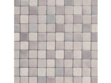 Bodenmeister BODENMEISTER Vinylboden »Furlana«, Mosaik grau, Breite 200/300/400 cm, grau, 200 cm, grau