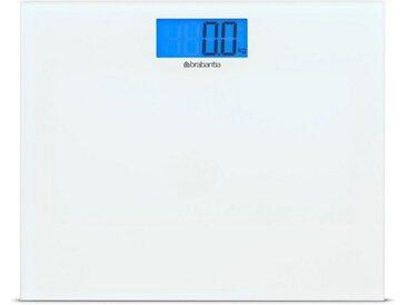 Brabantia Personenwaage »Digital Glas Weiß 483127«