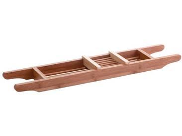 Zeller Present ZELLER Badewannenablage »Bamboo«, braun, braun
